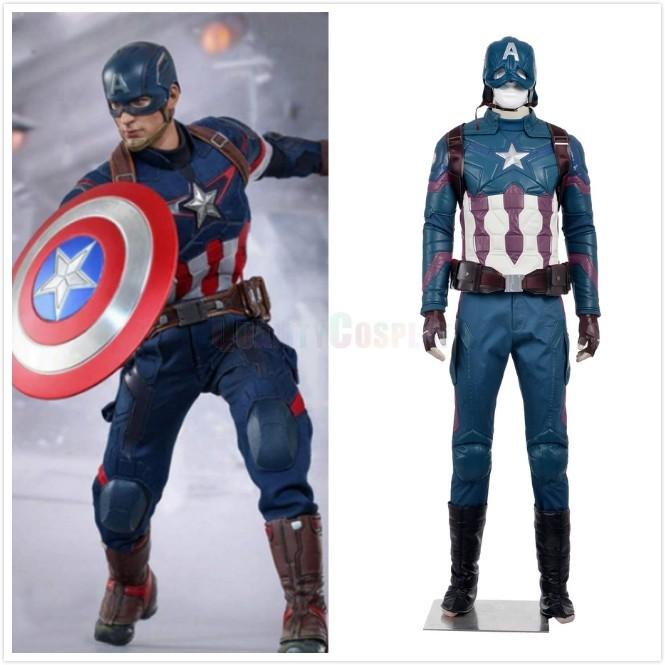 Captain America: Civil War Steve Rogers Cosplay Costumes