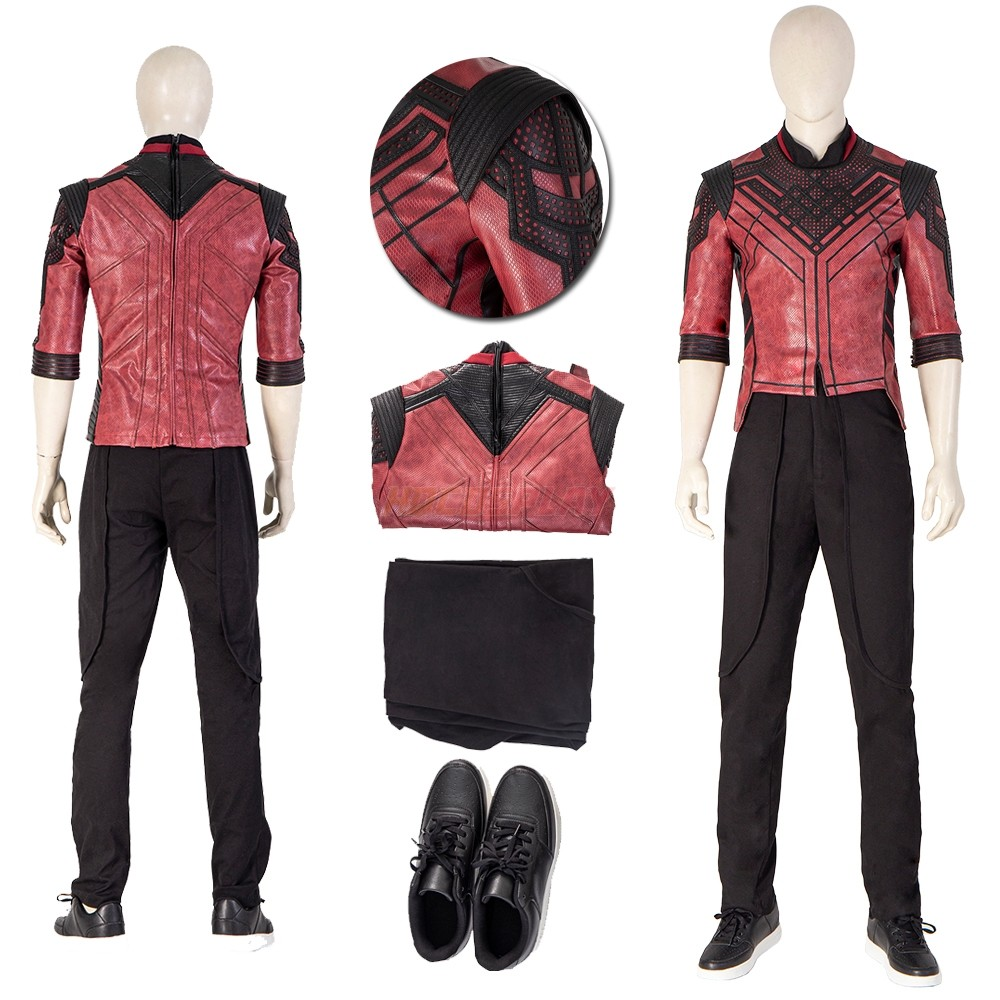 Special Marvel Edition Super Hero Shang-Chi Cosplay Costumes