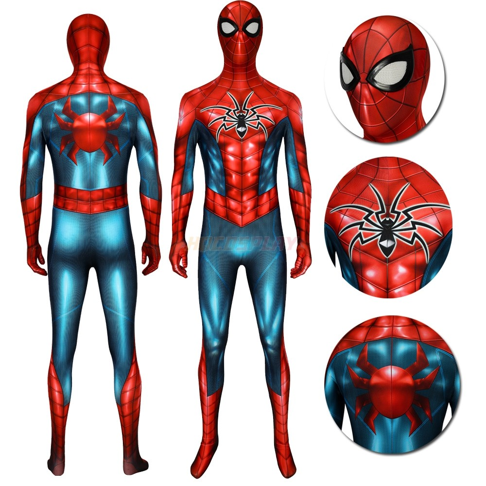 Spider-man PS4 Armour-MK IV Classic 3D Printed Cosplay Suits