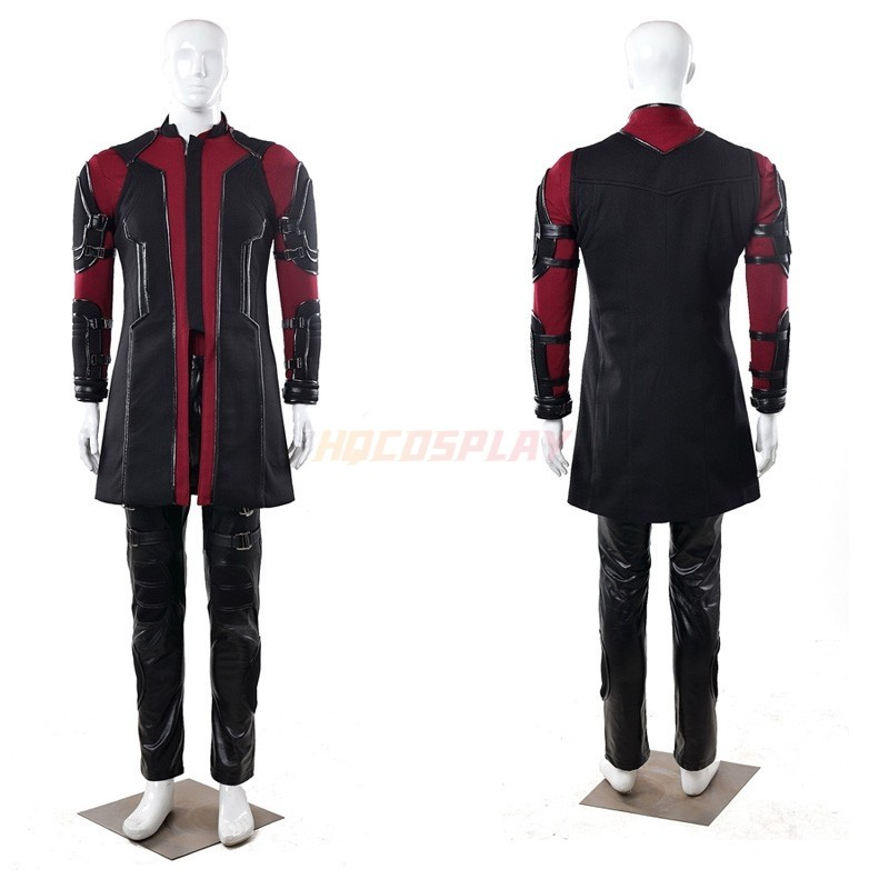 Avengers 2 Age of Ultron Hawkeye Cosplay Costumes Upgraded Version