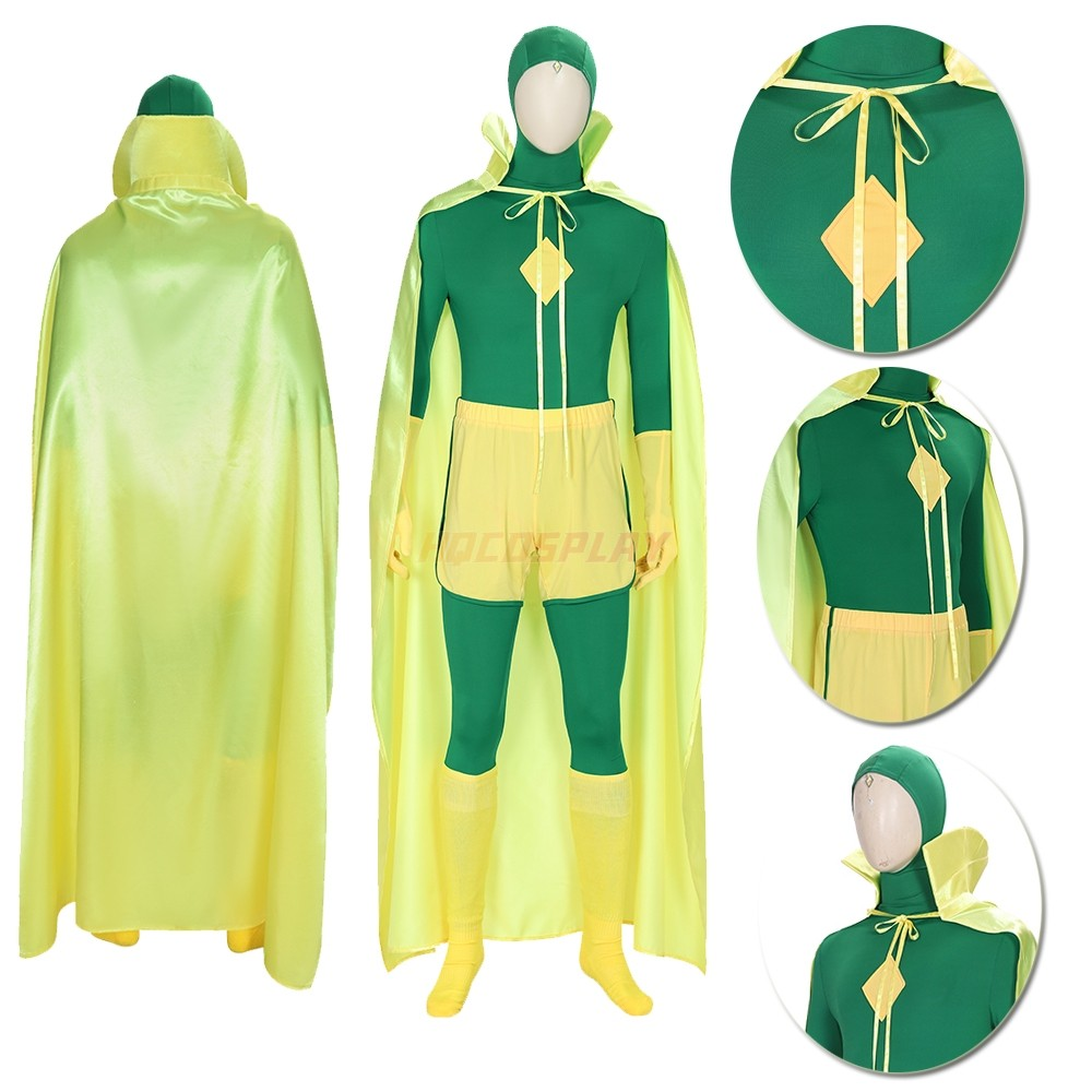 Wanda Vision Cosplay Suit  2021 Vision Cosplay Costumes