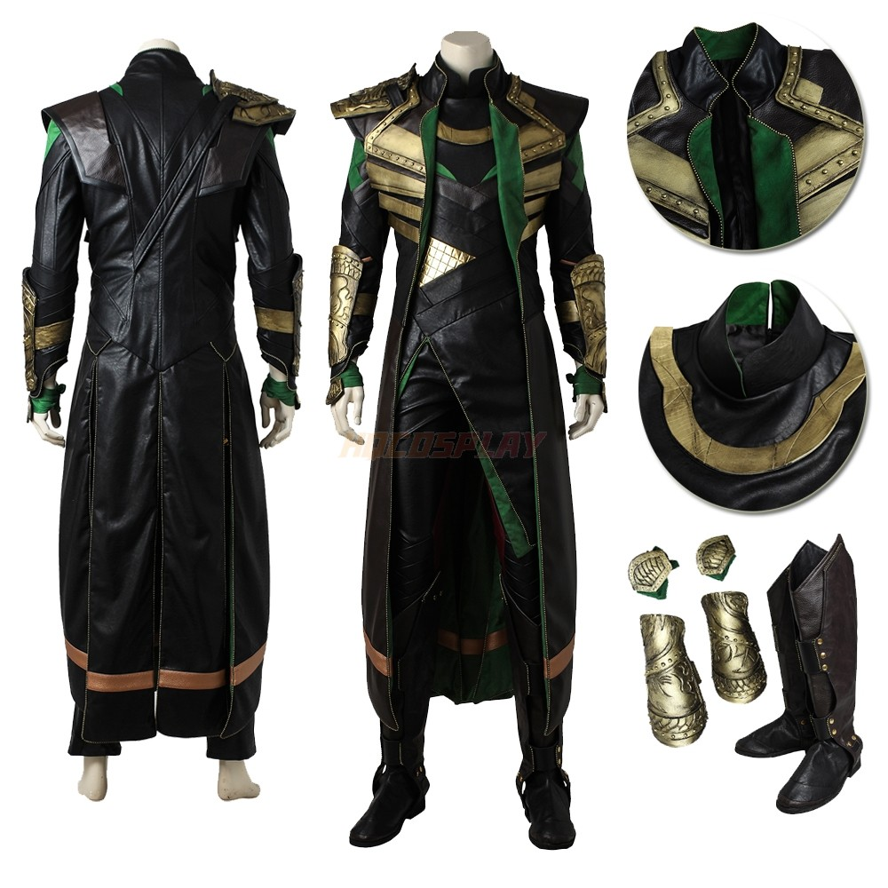 The Avengers Thor 2 The Dark World Loki Top Level Cosplay Suits