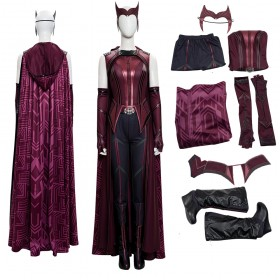 Wanda Vision Cosplay Suit  2021 Scarlet Witch Cosplay Costumes