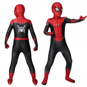 Kids Spider-Man Far From Home Spider-Man Peter·Parker Spandex Cosplay Suits