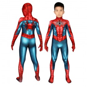 Kids Spider-man PS4 Armour-MK IV Cosplay Suit for Halloween Costume
