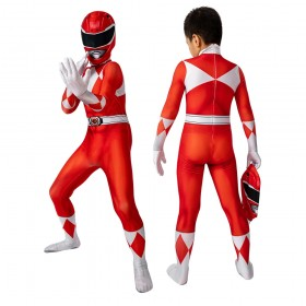 Power Rangers Jason Suit For Kids Red Ranger Cosplay Costumes