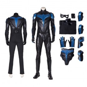 Nightwing Titian  Cosplay Costume Jumpsuit
