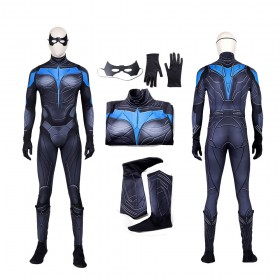 Nightwing Top Quality Cosplay Suit Titans Costume
