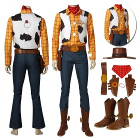 Anime Toy Story Woody Cosplay Costumes