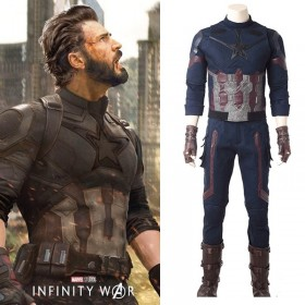 Ready To Ship Size XL Avengers 3 Infinity War Captain America Cosplay Costume