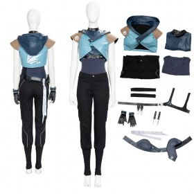 Top Quality Game Valorant Jett Cosplay Costumes