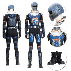 Black Widow Taskmaster Cosplay Leather Suit Top Quality Cosplay Costumes