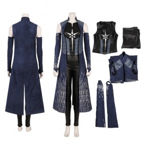 Killer Frost Cosplay Costume The Flash Season 6 Superhero Outfit