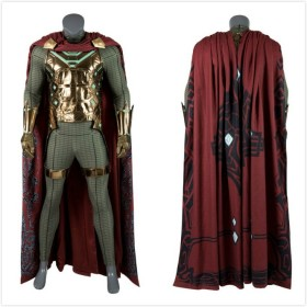 Spider Man Far From Home Mysterio Cosplay Costume