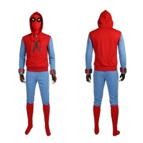 Ready To Ship Spider Man Homecoming Tom Holland Spider Man Size XXL Cosplay Costume
