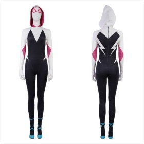 Ready To Ship Spider Man Parallel Cosmic Women Euro Size Cosplay Costume