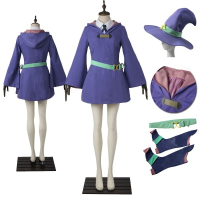 Little Witch Academia Daiana Cavendish Cosplay Costumes