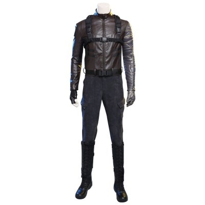 Winter Soldier Cosplay Costume The Falcon and the Winter Soldier