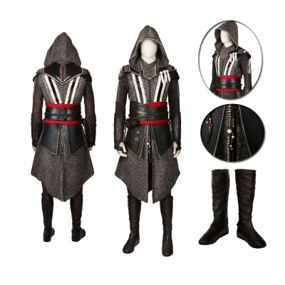 Movie Assassins Creed Callum Lynch Deluxe Cosplay Costume