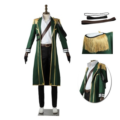 TSUKIPRO The Animation  Growth Member Wei Cosplay Suit