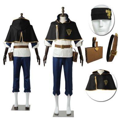 Black Clover Asta High Quality Cosplay Costumes