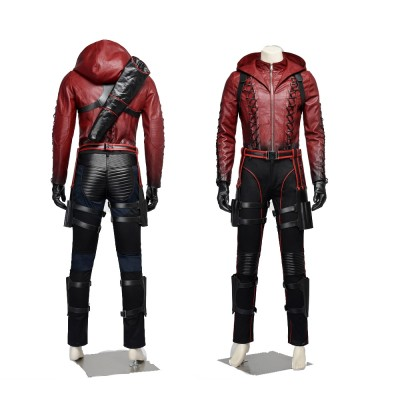 Red Arrow Roy Harper Cosplay Costumes