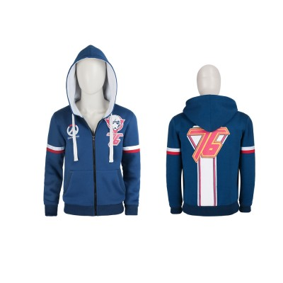 Overwatch Soldier: 76 Sweater Cosplay Costumes