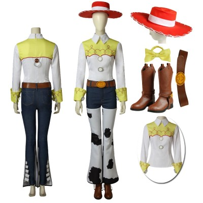 Anime Toy Story Jessie Cosplay Dress Up Costumes