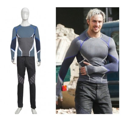Avengers 2 Age of Ultron Quicksilver Cosplay Costumes