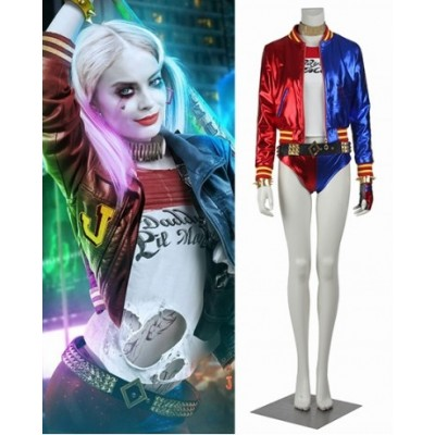 Suicide Squad Harley Quinn Cosplay Costumes