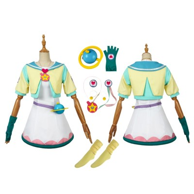 Hagoromo Lala Cure Milky Daily Costume Star Twinkle Pretty Cure Cosplay Suit