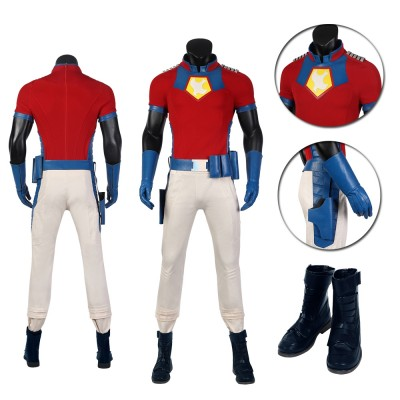 The Peacemaker Costume Suicide Squad 2 Cosplay Suit