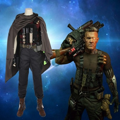 Deadpool 2 Cosplay Costume Nathan Summers/Cable Costume
