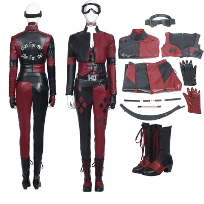 Harley Quinn Cosplay Suit Justice League Suicide Squad 2 Harley Cosplay Costumes