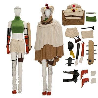Yuffie Cosplay Suit  Final Fantasy VII New Cosplay Costumes
