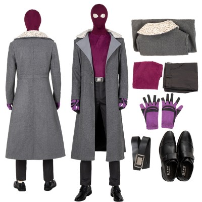 The Falcon and The Winter Soldier Zemo Cosplay Costumes