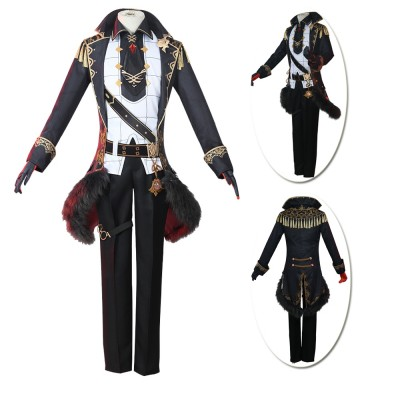 Genshin Impact Perfect Prince  Diluc Cosplay Dress Up Costumes