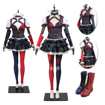 Harley Quinn Cosplay Suits Batman Arkham Knight Cosplay Costumes