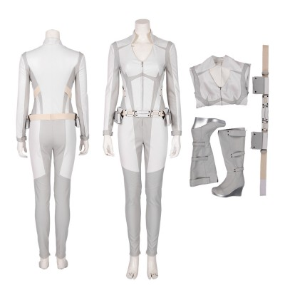 Legends of Tomorrow Sara Lance Cosplay Costume White Canary Suit