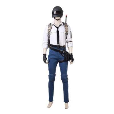 PUBG Cosplay Costume PLAYERUNKNOWN'S BATTLEGROUNDS Costume - Deluxe Version
