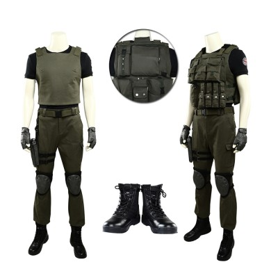 Resident Evil 3 Carlos Oliveira Cosplay Costume