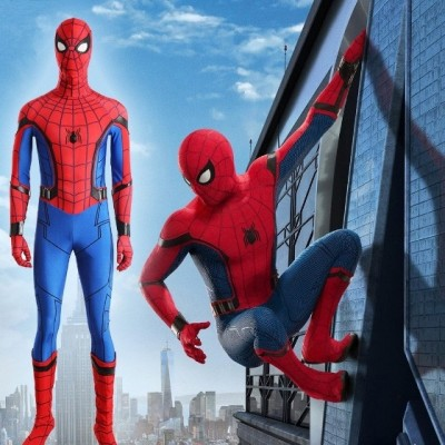 Spider Man Homecoming Spider Man Costume Deluxe Jumpsuit