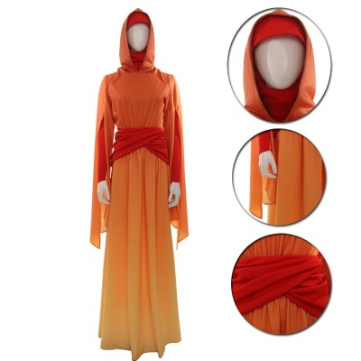 Star Wars Queen Padme Anidala Cosplay  Dress Up Costume